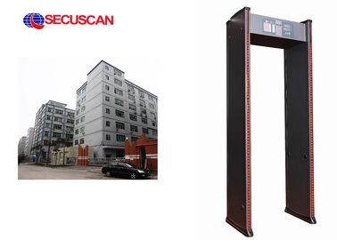China High Sensitivity Electronic Security Gate Walk Through for Office distributor