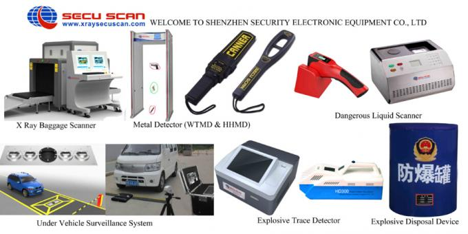 Automatic Explosives Detector airport with High speed Indentify