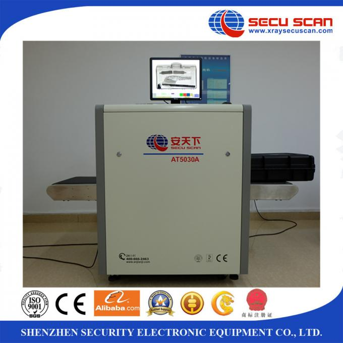 Logestic X Ray Baggage Scanner Machine With Airport Security