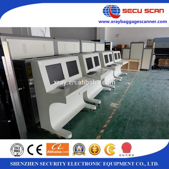 Remote Network X Ray Baggage Scanner Machine for Convention Centers