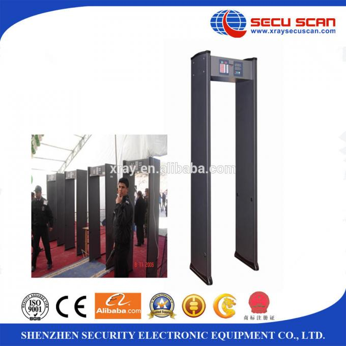 Professional Arched metal detector , shopping mall check-in area
