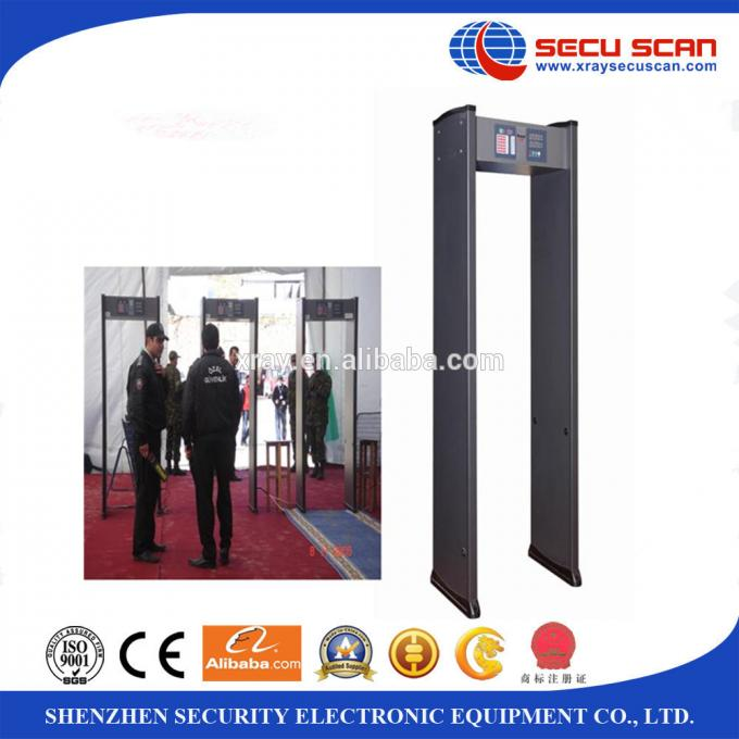 Gantry Walk Through Metal Detector Rental With Multi Zone Alarm