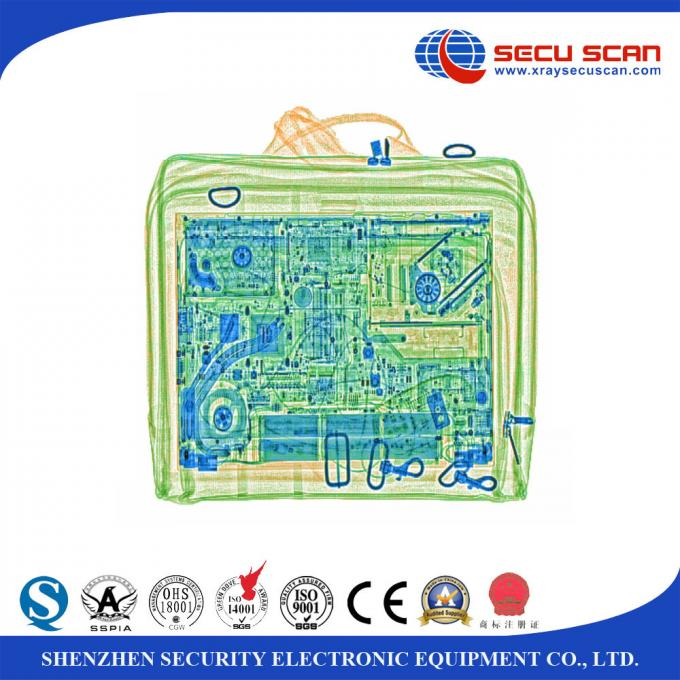 High Penetration Baggage Inspection System X Ray Baggage Scanner