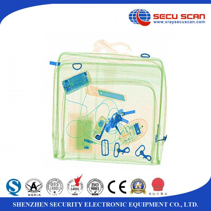Middle Size Baggage Screening Equipment Bag Scanner Machine 40mm Higher Penetration