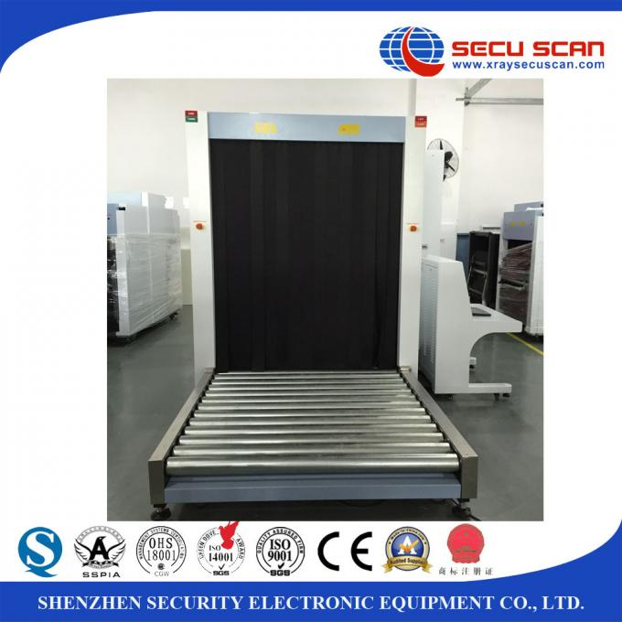 Customs use X ray security scanner for pallet goods / cargo inspection