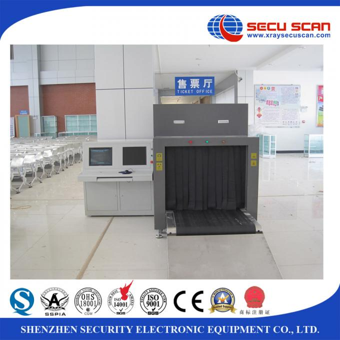 160Kv X Ray Baggage Scanner and Luggage Screening Inspection Machine resolution in 38-40 AWG
