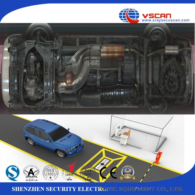 IP68 Weather Proof Under Vehicle Surveillance System With 22 Inch LCD Screen