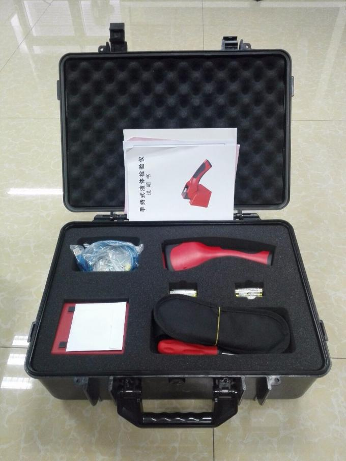 Hand Held Liquid Detection Systems , portable liquid analysis AT1500