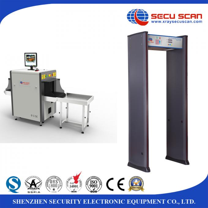 Train Station X-Ray Baggage Inspection System AT100100 Xray Scanner For Airport