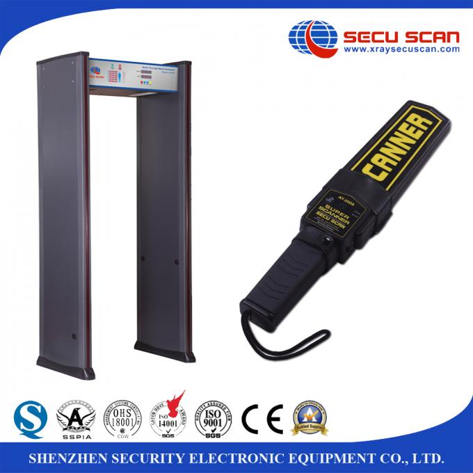 High Sensitivity supper wand Hand Held Metal Detector Scanner for Airports