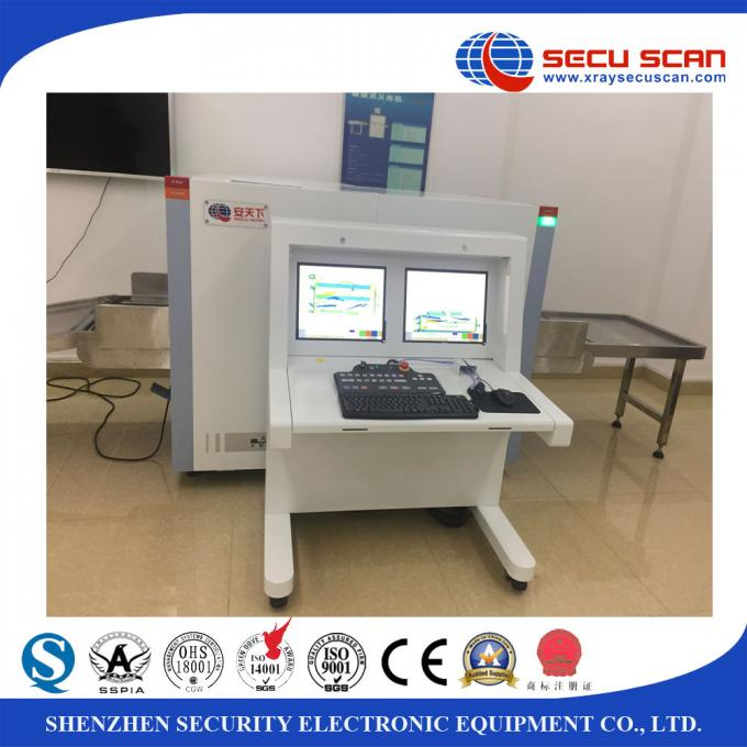Dual View Baggage And Parcel Inspection X Ray Scanner For Security Inspection
