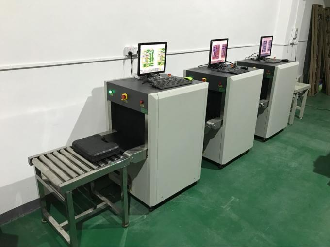 Single energy x ray screening machine , security checkpoint equipment high performance