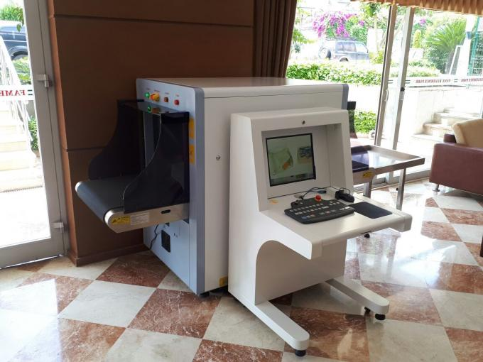 X-Ray Baggage And Parcel Inspection Machine SPX6550 SECUPLUS X ray Scanner