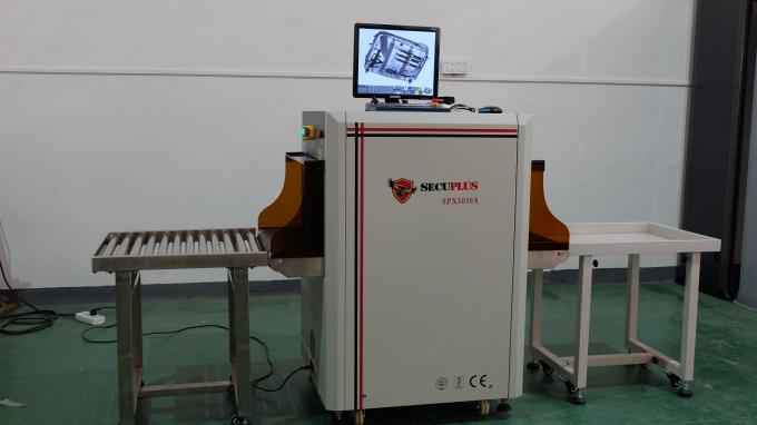 Police Use Portable X Ray Baggage Scanner With Industrial Ccd Camera