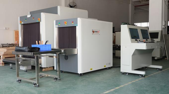 5030cm X ray Security Scanner  with 80KV single energy for Shoes inspection