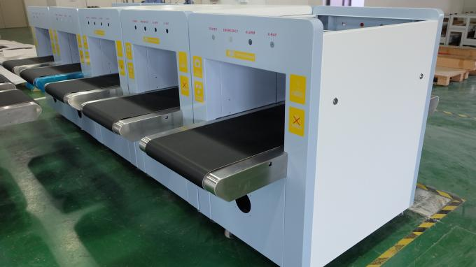 High Precision X Ray Baggage Scanner Medium Tunnel Size For Building Parcel Scanning