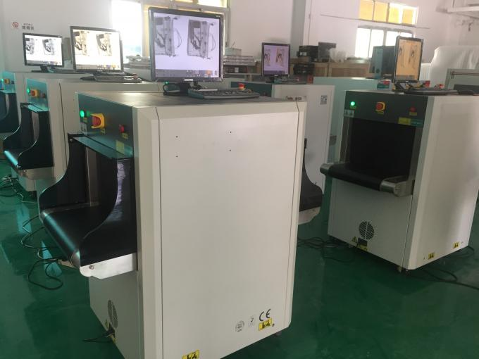 Dual Energy 100KV X Ray Security Scanning Equipment 5030C For Small Parcel Inspection