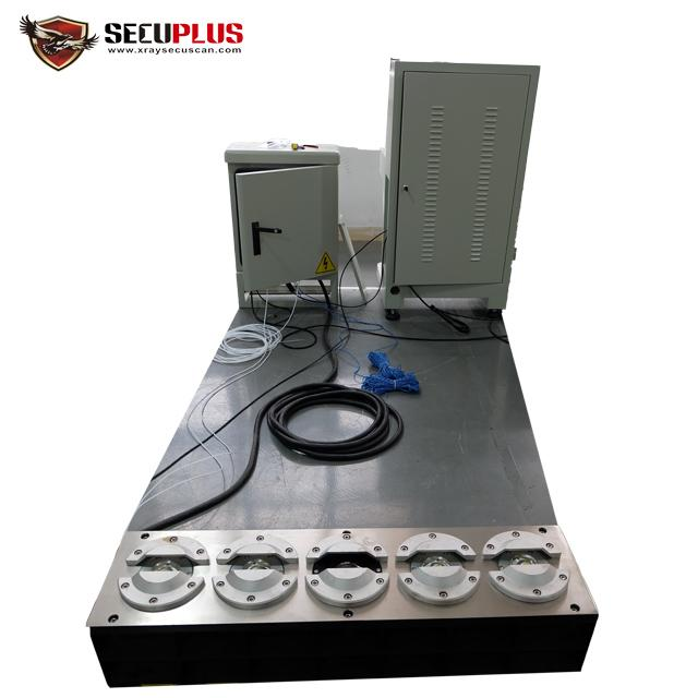 Anti - Theft Under Vehicle Surveillance System , Vehicle Inspection Mirror For Airport