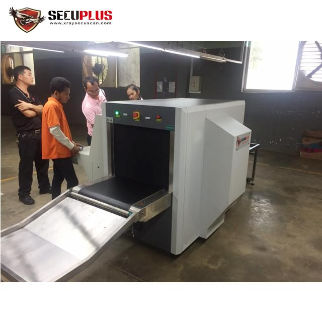35mm Steel Penetration Airport Baggage Scanning Equipment With Two X Ray Generators