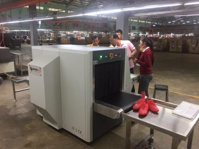 Dual View Baggage And Parcel Inspection , X Ray Scanning Machine For Hotel