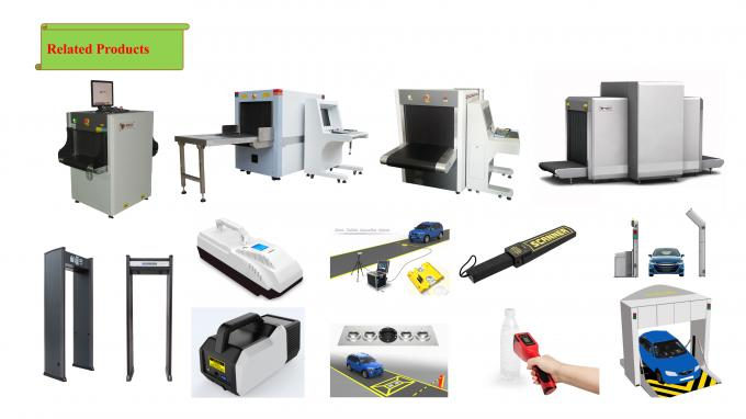 Singel Energy Baggage Screening Equipment X Ray Scanner Windows 7 Operation System
