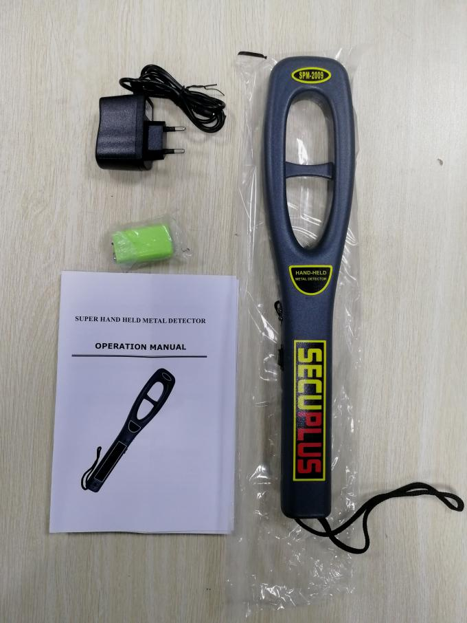 Security check Portable Metal Detectors SPM-2009 Hand Held Metal Detector