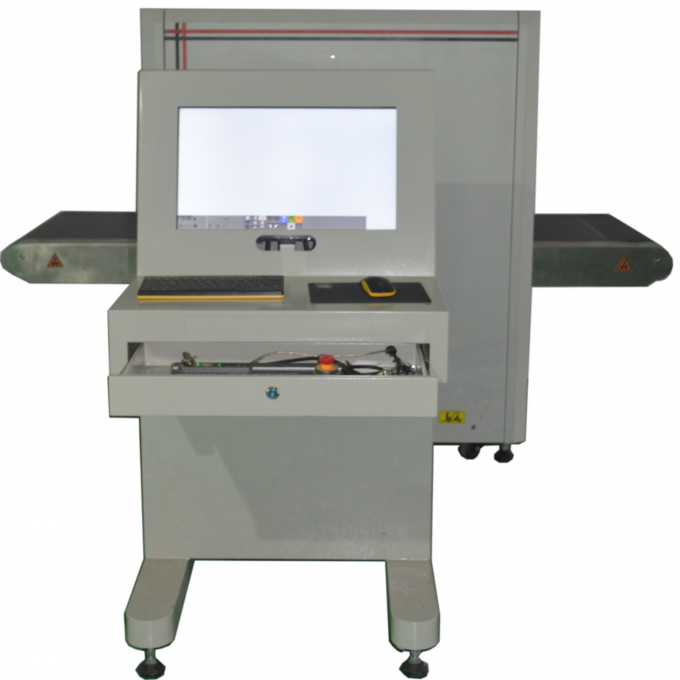 LCD Screen DFMD SPW-IIID Walk Through Metal Detector in Stocks for Sri Lanka