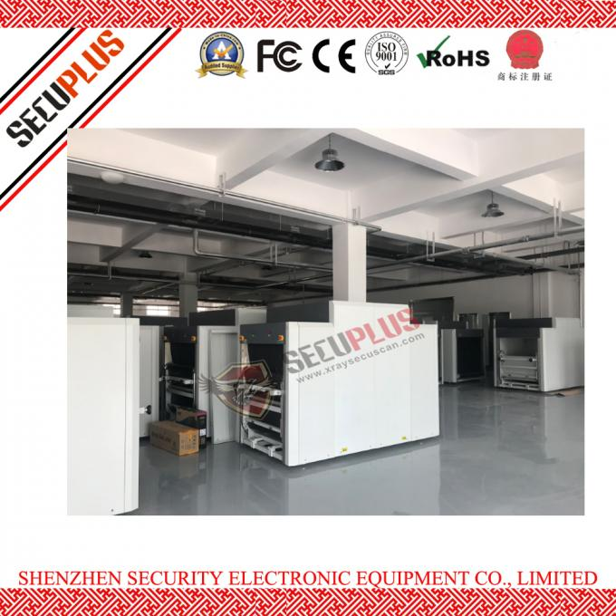 multi-engergy  X ray security System/machine to check big luggages on warehouse