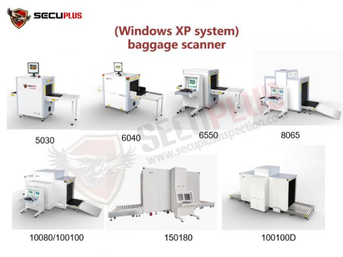 Computed Tomography X Ray Baggage Scanner station security checking SPX-6550