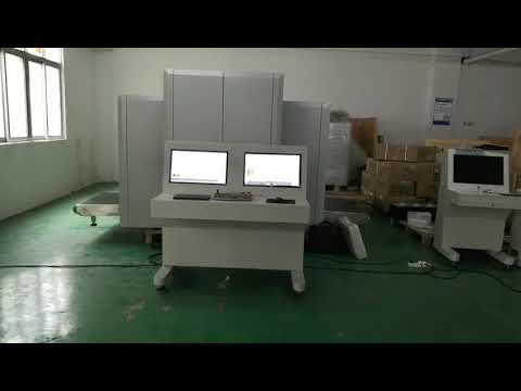 Parcel X Ray Baggage Inspection System 17'' Monitor Display For Warehouse / Seaport