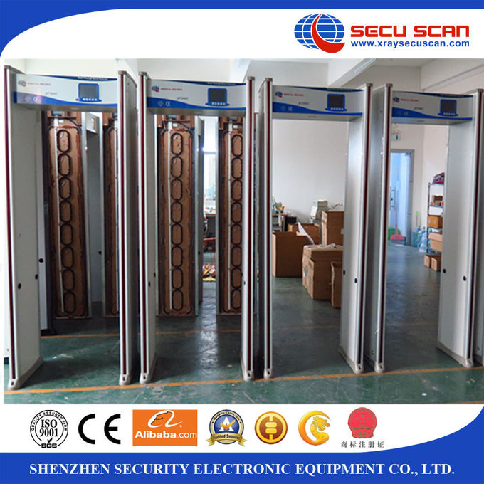 Security Archway Walk Through Metal Detector For Gun Knife Weapon Detection