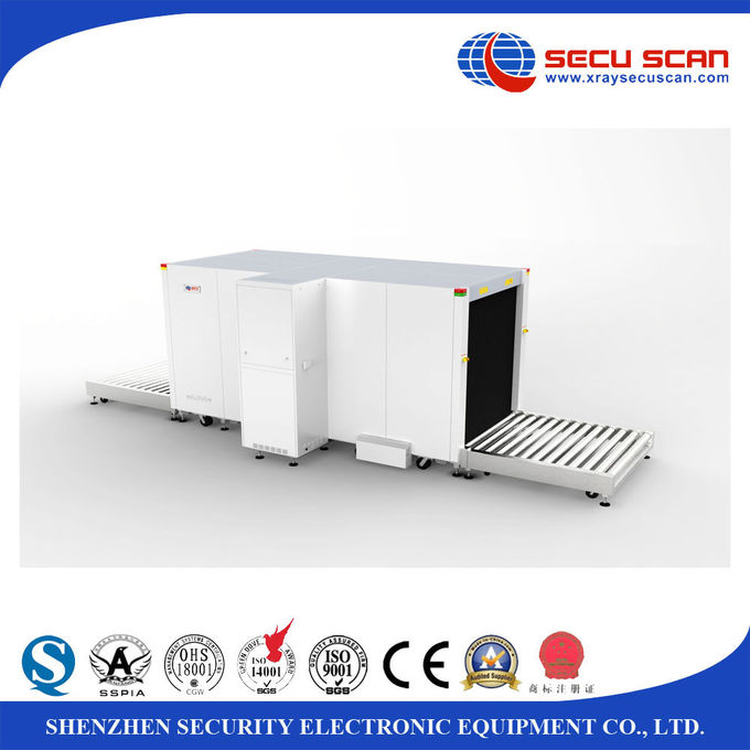 Big size pallet goods x ray airport scanner , luggage x ray machines for cargo inspection