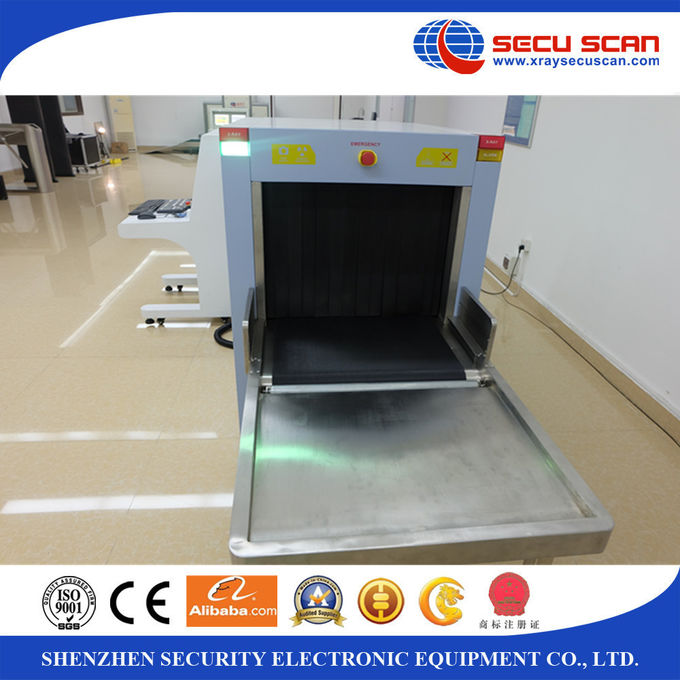 Dual view AT6550D X Ray Scanning Machine Baggage with medium tunnel size
