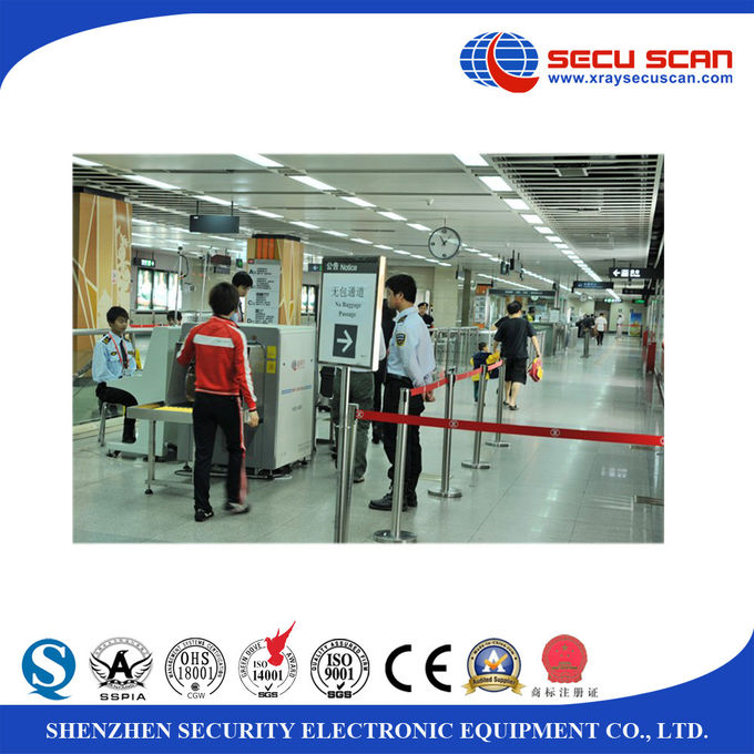 Luggage Inspection Baggage Screening Equipment 0.22m/s conveyor speed
