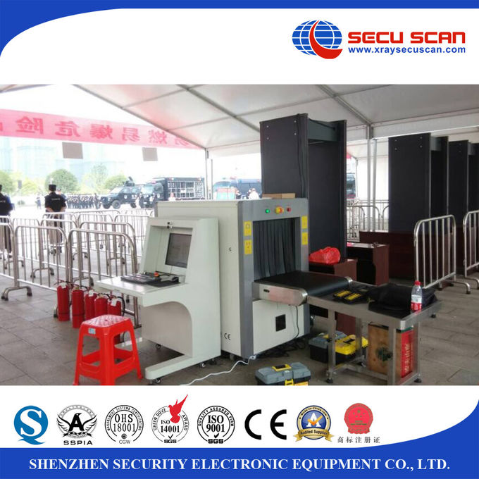 Audio Alarm x ray baggage scanner Installation for screening luggage